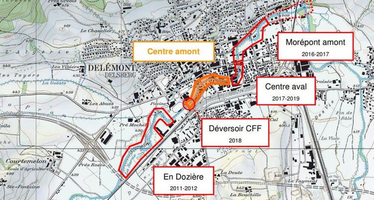 Delémont Marée Basse : mise en consultation d'une nouvelle étape