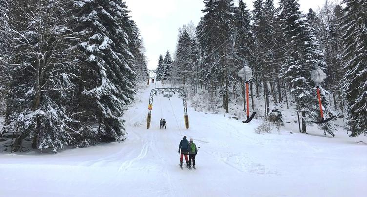 Ski dans le Jura : « Pas de soucis majeurs »