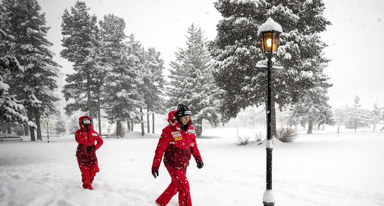 Le premier Super-G de St-Moritz annulé