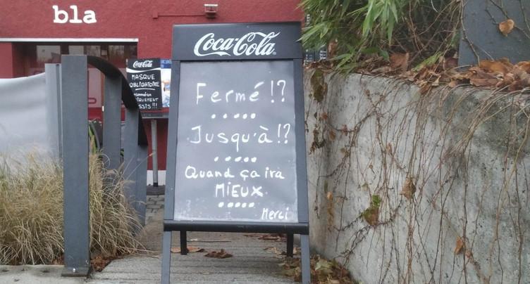 Le Parlement jurassien ne soutient pas une résolution sur la réouverture des restaurants