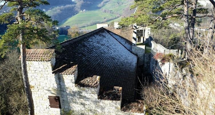 Viens la porte est ouverte - Le Château de Soyhières