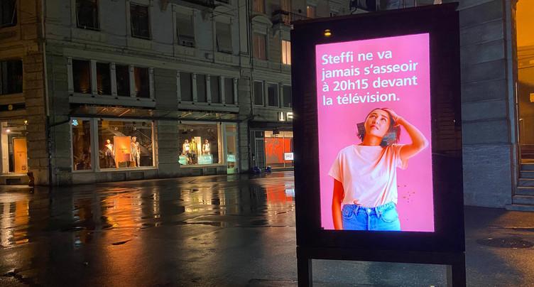 La publicité sera toujours autorisée à Bienne