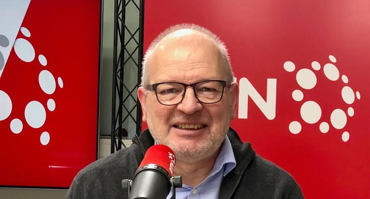 Daniel Veuve, défenseur des institutions