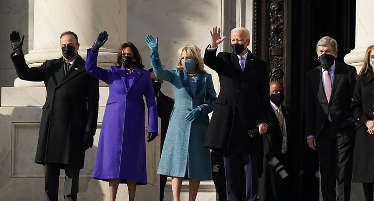 Joe Biden a prêté serment comme 46e président des Etats-Unis