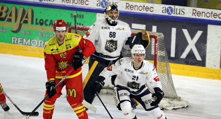 Le HCC face au HC Sierre d'Arnaud Montandon