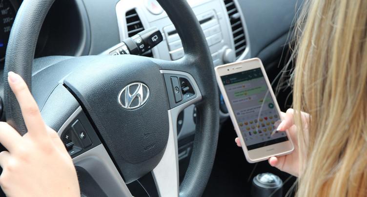 Tour de vis concernant l'usage du portable au volant