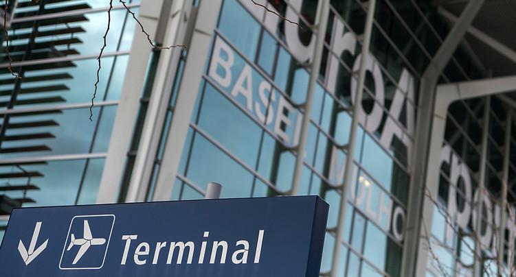 Baisse de 71% du nombre de passagers à l'EuroAirport