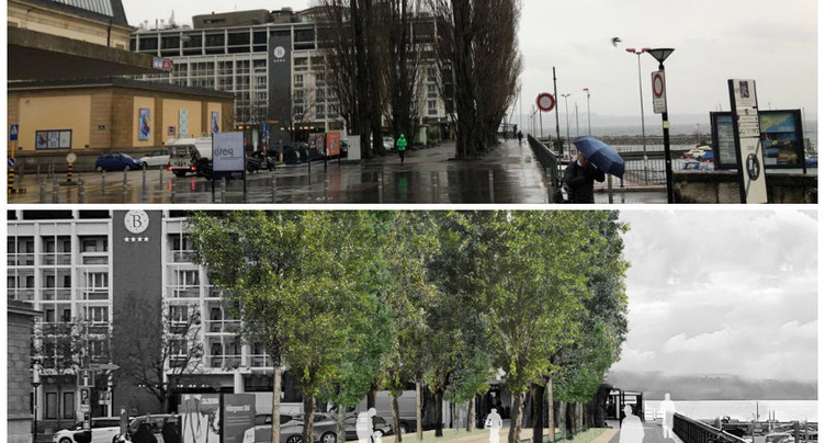Nouvel aménagement à la Place du Port