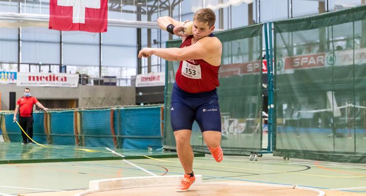 Une médaille d'argent et un record pour Jephté Vogel