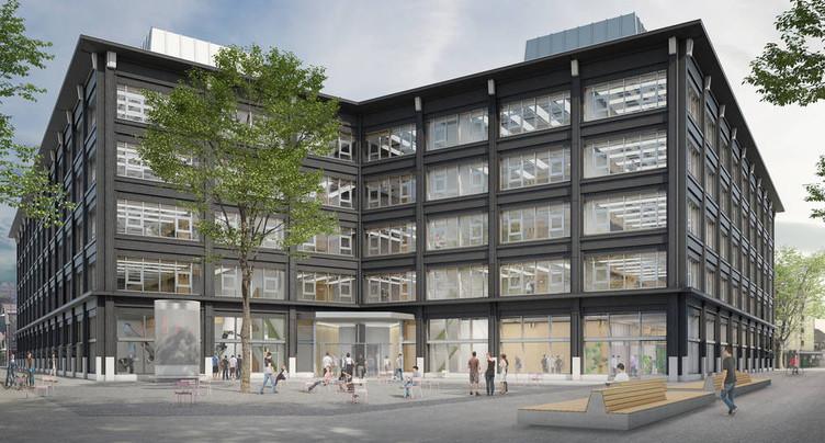 Campus Bienne : priorité pour son permis de construire