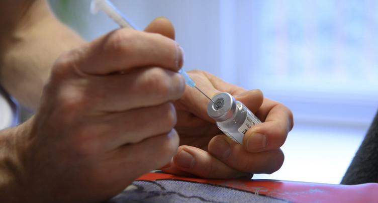 Le cap des 100'000 personnes entièrement vaccinées en vue