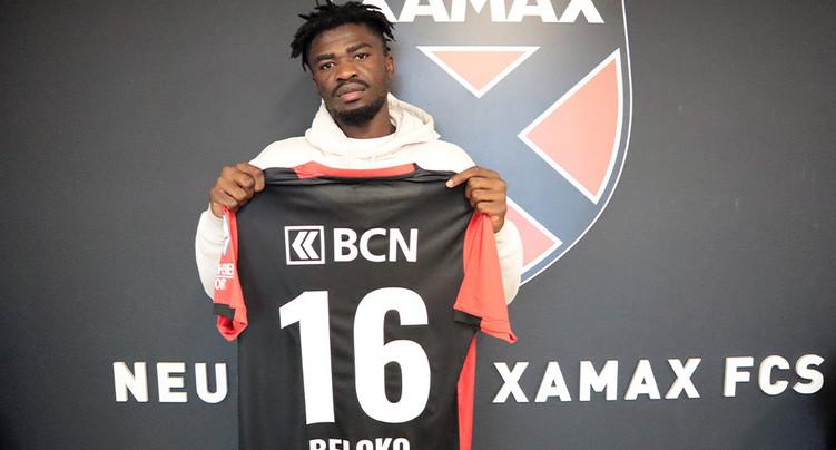 Xamax : Nicky Beloko signe jusqu'en 2023