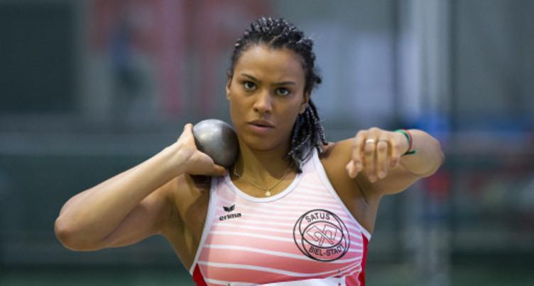 La médaille de bronze pour Caroline Agnou