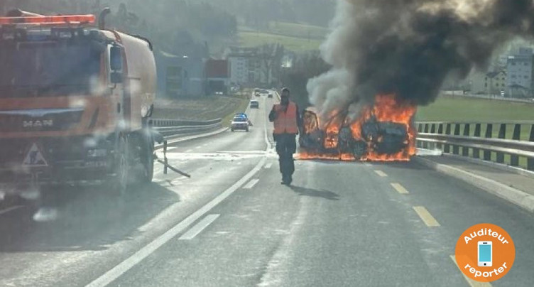 Impressionnant accident de la circulation entre Bévilard et Sorvilier