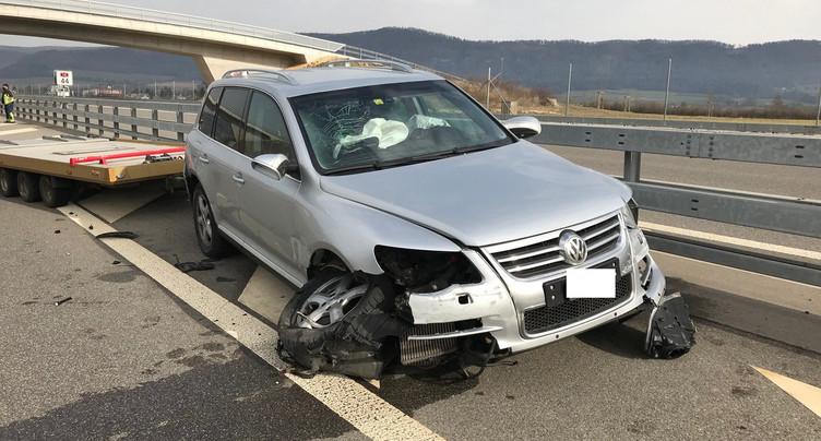 Un accident sans gravité sur l'A16