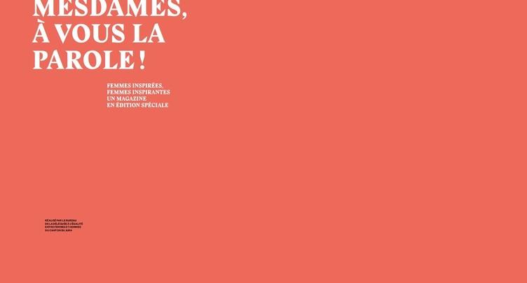 Un magazine pour rendre hommage aux femmes