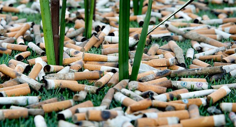 Ramasser un million de mégots de cigarettes en deux semaines