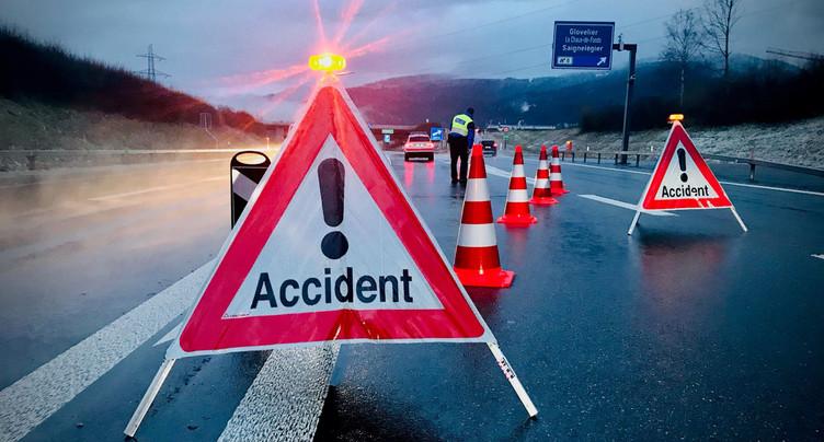 Un orage violent provoque une collision sur l'A16