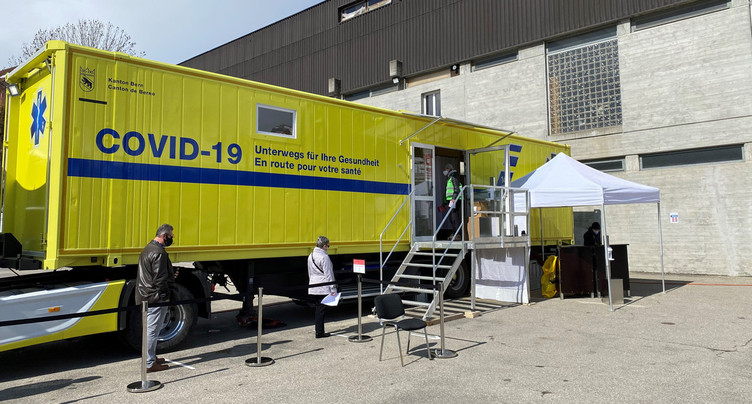 C'est reparti pour le camion de vaccination du canton de Berne