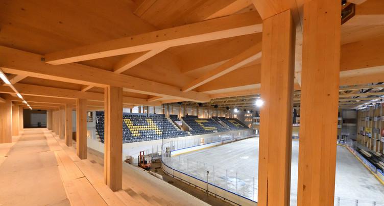 La Raiffeisen Arena obtient le « Label Bois suisse »