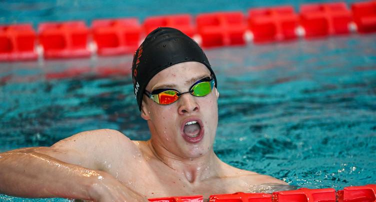 Ilan Gagnebin en bronze sur 100 mètres papillon