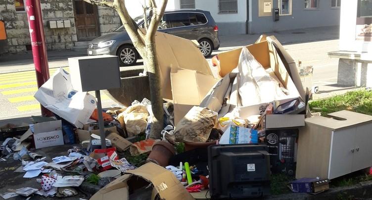Valbirse sévit contre les déchets mal triés