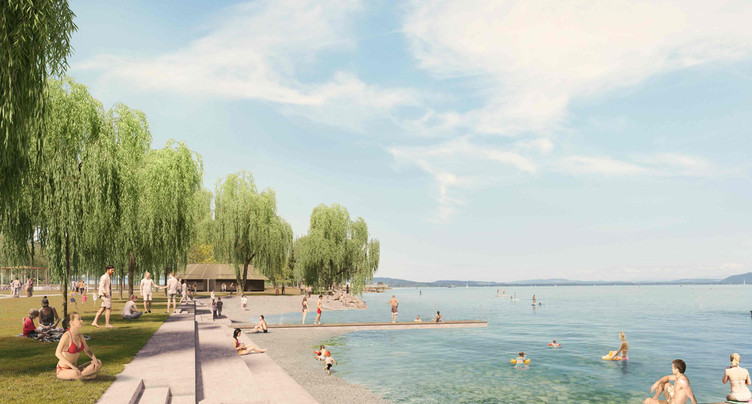 Le nouveau parc des Jeunes-Rives va de l'avant