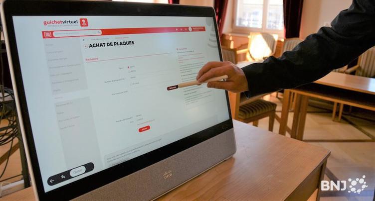 Des bornes numériques pour se familiariser aux prestations administratives en ligne