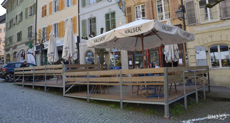 Des autorités plus flexibles en matière de terrasses