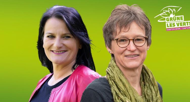 Moussia de Watteville et Christine Häsler en lice pour le Conseil-exécutif