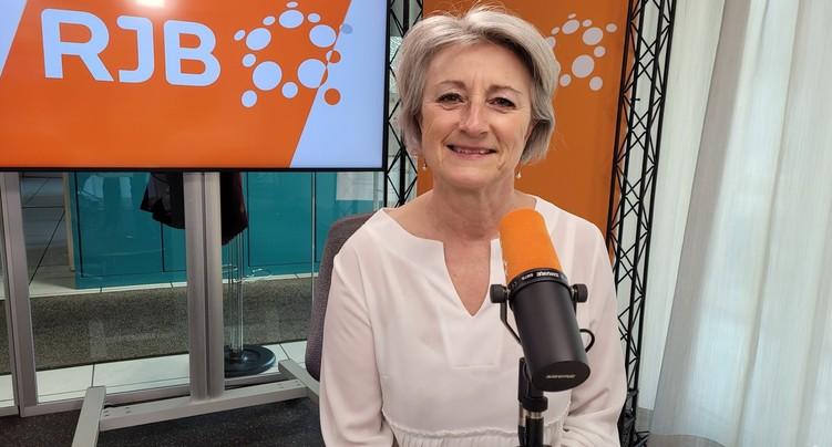 A la mairie depuis 100 jours : Catherine Frioud-Auchlin
