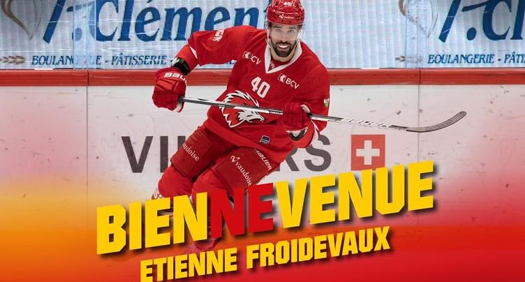 Etienne Froidevaux au HC Bienne