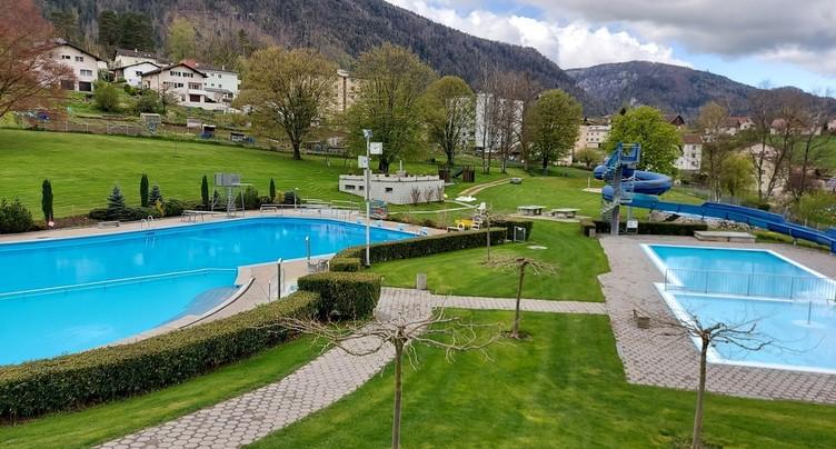 Ouverture de la saison à la piscine de Moutier