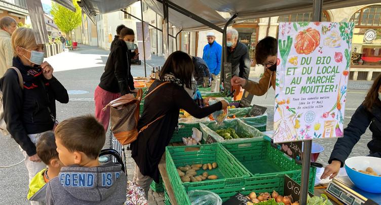 Le marché de retour en Prévôté
