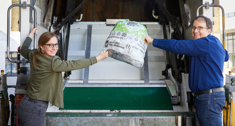 Bilan positif pour la collecte du plastique à Bienne