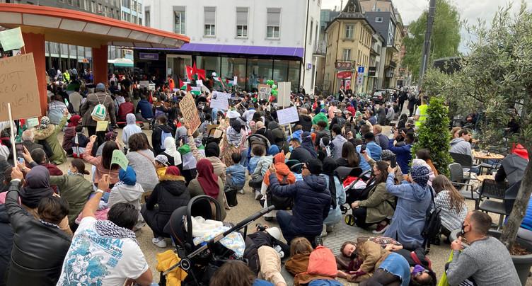 Bienne soutient la Palestine