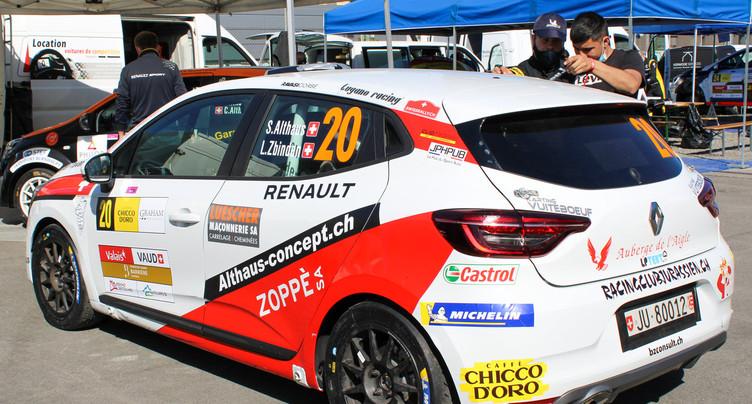 David Erard brille au Rallye du Chablais