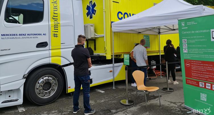 Une campagne de vaccination mobile dans le Jura