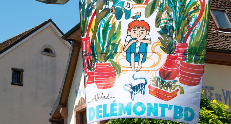 Une 7e édition de Delémont'BD « conviviale et festive »