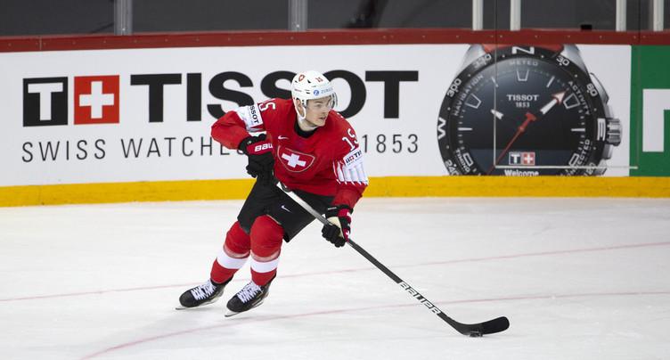 Grégory Hofmann signe en NHL
