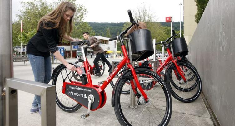 Le Conseil-exécutif ne souhaite pas harmoniser l'offre des vélos en libre-service