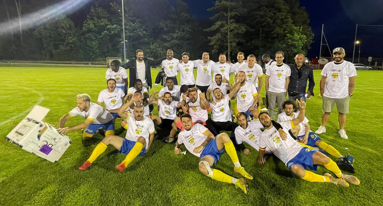 Le FC Coffrane promu en 2e ligue inter