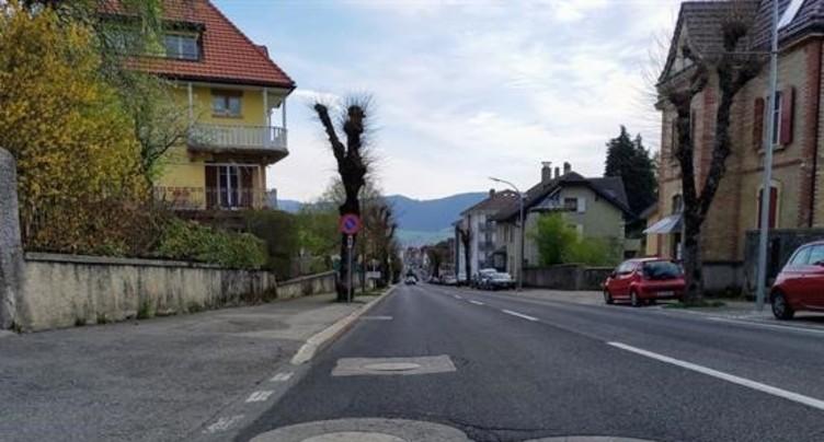 Travaux entre Fontainemelon et Cernier