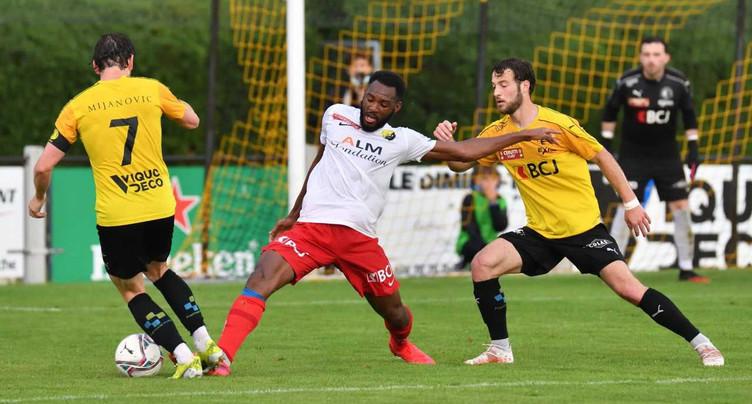 Pas de vainqueur entre le FC Bassecourt et les SRD