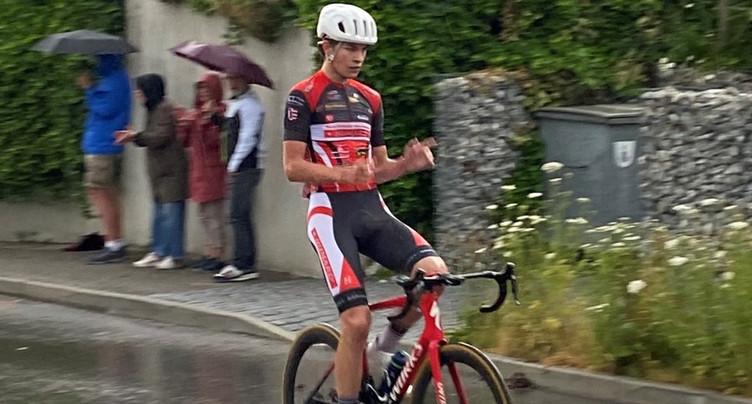 Victor Benareau s'impose dans le canton de Fribourg