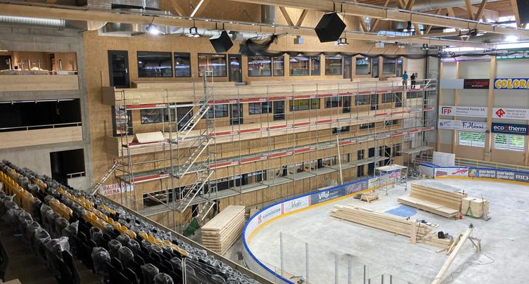 Déjà des transformations pour la Raiffeisen Arena