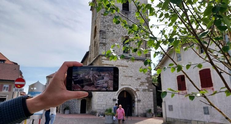 Visite numérique à St-Imier