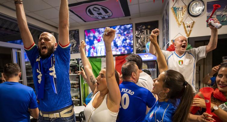 L'expresso de la victoire pour les Italiens