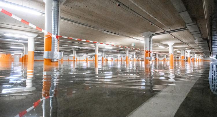 Le parking de la Maladière accessible dès mercredi