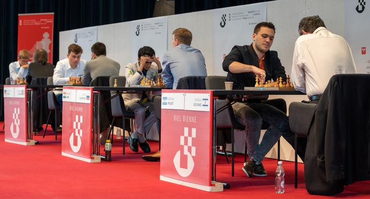 C'est parti pour le Festival d'échecs de Bienne